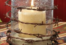 candles.....rustic