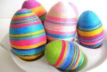 styropianowe jajka