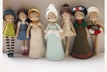 Dolls Galore / Inspiration for Designing Dolls  / by Samantha Fox