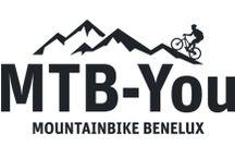 Mtb-toertocht en vaste routes / Mountainbiken