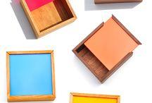 Wooden box / Box vintage diy
