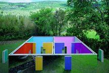 daniel buren conceptual art abstract minimalism