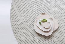 Colección Quill diseñada por Nao Tamura para nanimarquina / Colección Quill diseñada por Nao Tamura para nanimarquina, acompañada en estas fotos de algunos productos de Delica #SpanishDesign #REDmembers