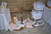 Στολισμός γάμου Άγιος Χαράλαμπος Συκεών