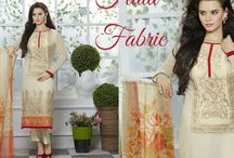 Fluid Fabric / Bathe in the fluidity of Viscose satin topped with all over embroidery. Dive in at http://bit.ly/1KlK3OY