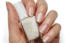 Wedding Nails by essie / Wedding nail inspo featuring essie Gel Couture Wedding collection by Reem Acra and essie favourite wedding shades.
