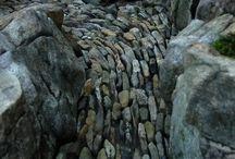Rocks in Landscape / Landscape ideas using Rocks.
