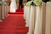 wedding ideas / Ceremony decorations