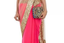 Ethnic Saree / Saree, Suits, It's Indo-western treat