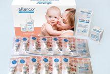 Kampania allerco® / Z myślą o delikatnej i wrażliwej skórze małego dziecka, powstała linia hipoalergicznych i nawilżających preparatów emolientowych allerco® o unikalnym składzie. Z allerco® możesz być pewna, że skóra Twojego dziecka jest pod najlepszą ochroną! #Allerco #DbaODelikatnaSkore #Od1dniaZycia #AllercoEmolienty