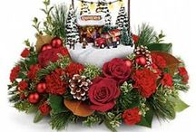 Christmas Flower Decorations