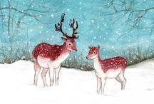 Karina Mae Illustrations / Illustrations by Karina Kalvaitis