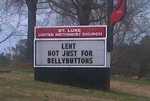 Church signs / by Stefan Jansen