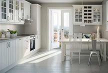 Estilos de cocinas y mobiliario / Mobiliario y accesorios para una cocina funcional y acogedora
