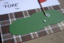 (ABD) Cards ~ Golf / May your Birthday be like your golf game .... way Above Par !! / by Glenda Jae