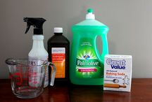 Clean freak!!! / by Deanna Waites