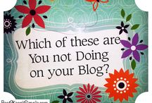 Interesting Articles. / Here are some interesting articles to help with Blogging on my (and your) your website, / by Bag-A-Poncho Clarens (SA)