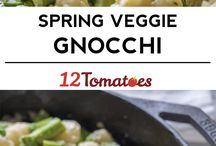 spring veggie gnocchi