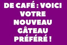 gateau au cafe