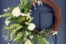 wreaths / sharing great pictures and styles, colors and what they mean.