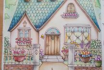 Colouring book Romantic Country by Eriy