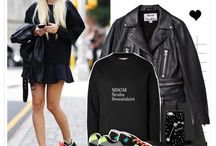how to style black little dress