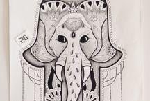 Hamsa / My artwork