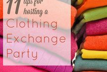 clothing exchange / by Heather Burdette