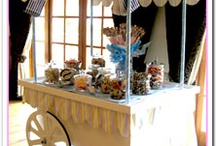 candy carts, sweet trees, candy buffets