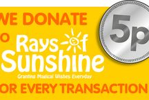 The Fragrance Shop & Rays of Sunshine / A selection of images from some of our wishes with Rays of Sunshine. We donate 5p from every transaction to the Children's Charity.  #RaysofSunshine #Charity