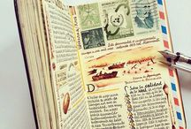 Travel Journal / Ideas and examples of travel journals  Including some pages of my own!!! Aahhh!!!