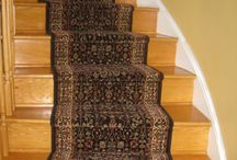 Stair Runners / Large selection of runners in the store.