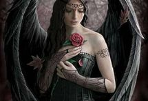 Gothic angels & vampires