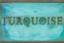 turquoise...
