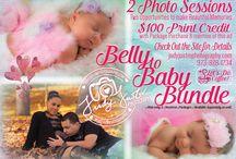 Maternity & Newborn Photo Sessions