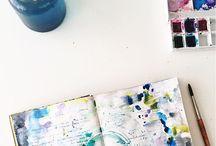 Art Journal/ dziennik malarski