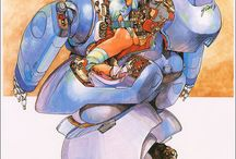 Reference - Mechas, robots and cyborgs