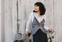 Bike Fashion Lines for Women / This is a board to share fashion created for the female casual bicyclist - I'm looking for dressing for the destination lines. / by Women On Bikes California