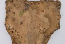 Late 14th / Early 15th Coats of Plates and Covered Armors / Later 14th Century and early 15th century Coats of Plates and covered breastplates usually of the globose form.  Referred to in period as Pairs of Plates, or simply Plates.  Some overlap with 'Brigandine.'