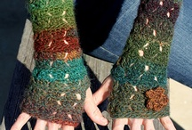 Crochet gloves/legwarmers
