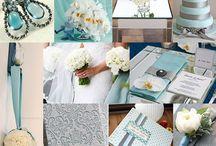 Aqua & Gray Wedding
