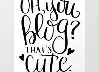 the Blogging life