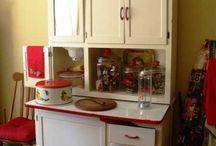 Flour Cabinet Make Over