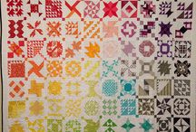 Over the Rainbow / Rainbow Colored Quilts / by Evalyn Allen