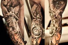 Full sleeve tattoo's / Sleeve