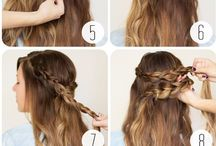 DIY hair & makeup
