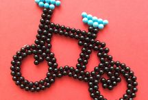 Transport / Get somewhere quickly with these #Aquabeads creations