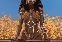 African American Art & Design concepts