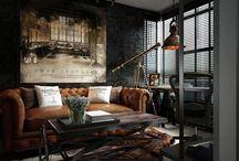 Copper & Black interiors