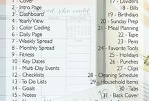 Planning / Great tips of how to plan our day and life in general.